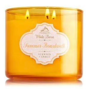 NEW BBW Summer Boardwalk 3Wick Scented Candle